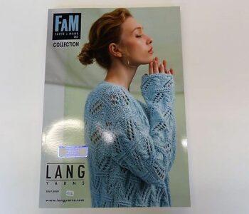 Lang Modewolle Zeitschriften